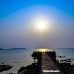 在威海看海(张锋摄影作品)